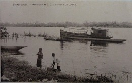 Stanleyville : Remorqueur De S.C.E  Barman  La Lowa - Congo Belge - Autres