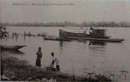 Stanleyville : Remorqueur De S.C.E  Barman  La Lowa - Belgian Congo - Other