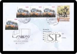 Portugal 2013 Veículos Postais EUROPA Lisboa Rafael Bordalo Pinheiro - Correo Postal