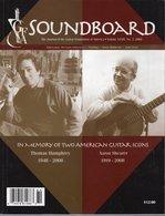 Revue De Musique -  Soundboard Guitar Fondation Of America N° 3 - 2008 - Thomas Humphrey - Art