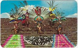 Mexique Mexico,  Danzantes Aztecas, Tenochtitlan - Mexiko