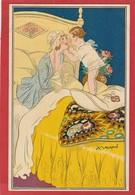 CPA: Illustrateur Mauzan  - Femme - Mauzan, L.A.