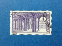 1989 ITALIA SCUOLE UNIVERSITA PISA FRANCOBOLLO USATO ITALY STAMP USED - 6. 1946-.. Repubblica