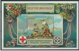 Malte 2015 Nobel Red Cross Croix Rouge MNH - Nobel Prize Laureates