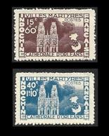 INDOCHINE  1944- YT  292 Et 293   -Villes Martyres - NEUFS** - Indochina (1889-1945)