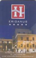 GREECE Hotel Keycard - ERIDANUS ,used - Hotelsleutels (kaarten)