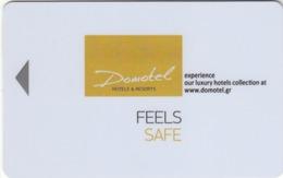 GREECE Hotel Keycard - Domotel Hotels & Resorts ,used - Hotelsleutels (kaarten)