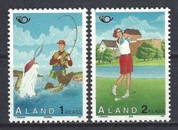 "Aland Yv 102/3 "" Norden 95"" Tourisme,sports , Golf, Pêche ** - Aland"