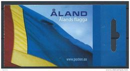 Aland 2007 Carnet C234 II Neuf Drapeau - Aland