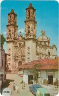 Mexique  Iglesia De Santa Prisca    Taxco,gro,mexico    Built In The 18 Century  This Church Is A Fine Exemple Of Churri - Mexiko