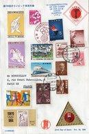 Enveloppe Jeux Olympiques Tokyo - Ete 1964: Tokyo