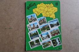 VUES DIVERSES DE L'ALLIER - Carte Géographique ( 03 Allier ) - Frankreich