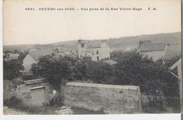 AUVERS SUR OISE. CP Vue Prise De La Rue Victor Hugo - Auvers Sur Oise