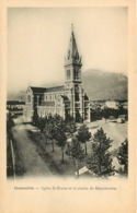 ISERE GRENOBLE EGLISE ST BRUNO ET LA CHAINE DU MOUCHEROTTE(scan Recto-verso) KEVREN0462 - Grenoble