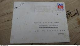 RARE ALGERIE : 2 Enveloppes Avec Courrier Postées De BECHAR - 1965 - SP 87.374/B - Marcophilie (Lettres)