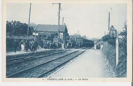 FREPILLON. CP La Gare La Halte - France