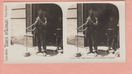 OLD STEREO PHOTO CARD - ITALY - NAPOLI - TYPE (1) - Napoli