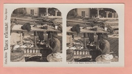 OLD STEREO PHOTO CARD - ITALY - NAPOLI - TYPE (2) - Napoli