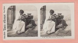 OLD STEREO PHOTO CARD - ITALY - NAPOLI - TYPE (3) - Napoli