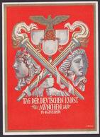 AK Propaganda / TAG DER DEUTSCHEN KUNST MÜNCHEN 1939  / Geschrieben Von Anacker Heinrich - Weltkrieg 1939-45