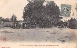 54 .n° 108576 . Luneville Garnison . Attelage .les Batteries De La 2edivision De Cavalerie . - Autres Communes