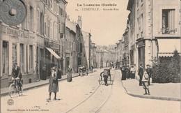 54 - Carte Postale Ancienne De   LUNEVILLE   Grande Rue - Luneville