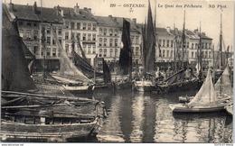 Belgique - OSTENDE - Le Quai Des Pecheurs. - Oostende