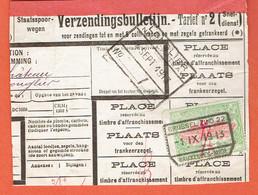 190 Pa - Brussel-Zuid 1913 Vers Longlier-Neufchateau - 1895-1913