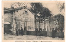 Cpa 17 Rochefort Caserne Tréville - Rochefort