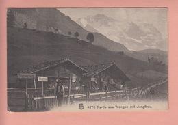 OLD POSTCARD - SWITZERLAND - SCHWEIZ - SUISSE -      WENGEN - STEINENWALDWEG - BE Berne