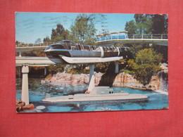 Submarine & Monorail Disneyland   Ref 3843 - Disneyland