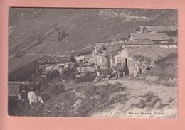 OLD POSTCARD - SWITZERLAND - SCHWEIZ - SUISSE -    BRIENZER ROTHORN - AGRICULTURE - BE Berne