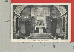 CARTOLINA VG ITALIA - ASSISI (PG) - Tomba Di S. Francesco - 9 X 14 - 1936 - Italy