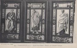 Arts - Religion - Emaux Léonard Limousin - Saints - Eglise Saint-Pierre Chartres - Métiers - Lot De 4 Cpa - Fine Arts