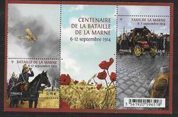 France 2014 Bloc Feuillet N° F4899 Neuf Bataille De La Marne à La Faciale + 10% - Neufs
