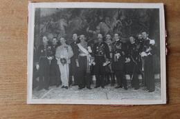 Photographie Militaire Généraux Vers 1920 Grande Tenue Et Officiers General BRUGERE - Guerre, Militaire