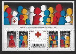 France 2013 Bloc Feuillet N° F4819  Neuf Pour La Croix Rouge. Prix De La Poste - Blocchi & Foglietti