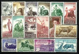 España Nº 1254/69 Nuevos - 1951-60 Nuevos & Fijasellos