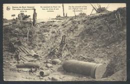 +++ CPA - Ruines Du MONT KEMMEL - Heuvelland - Un Trou De Mine Et Son Contenu - Guerre - Publicité Margarine - Nels // - Heuvelland