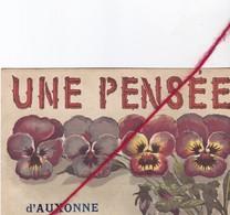 CP 21   -   AUXONNE  - Une Pensée De .... - Auxonne