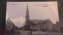 22 ST GILLES VIEUX MARCHE L EGLISE  1908 - Saint-Gilles-Vieux-Marché