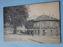 JOINVILLE Le PONT -- Le Bureau Des Postes Télégraphes Téléphones Et La Marne - Petite ANIMATION - Poste & Facteurs