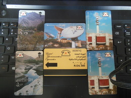 SET OF 6 PHONE CARDS PLEASE SEE SCAN FOR DETAILS VERY NICE QUALITY - Oman