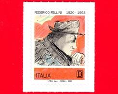 Nuovo - MNH - ITALIA - 2020 - 100 Anni Della Nascita Di Federico Fellini – Autoritratto - B - 6. 1946-.. Republic