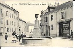 88 - Vosges - Remiremont - Rue De La Xavée - Remiremont