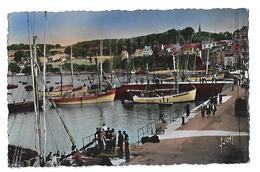 Douarnenez - Le Port Et Les Plomarc'h - Yvon N° 2939 - Circulé 1956 - Douarnenez