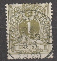 COB N° 42 Oblitération ETTERBEEK (BRUX.) 1889 / Défauts - 1884-1891 Leopold II