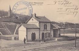 AVIATION  CACHET  ESCADRILLE M.F.5 AÉRONAUTIQUE MILITAIRE LE CHEF D' ESCADRILLE  GUERRE 1914 1918 - Marcophilie (Lettres)