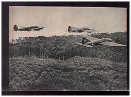 DT- Reich (008924) Propagandakarte Kampfflugzeuge Heinkel He 111 Auf Angriffsflug, Ungebraucht - Germany