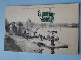 JOINVILLE Le PONT -- Bords De Marne - Embarcadère - ANIMATION - Joinville Le Pont